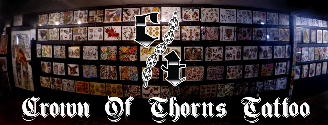 Crown of thorns tattoo
